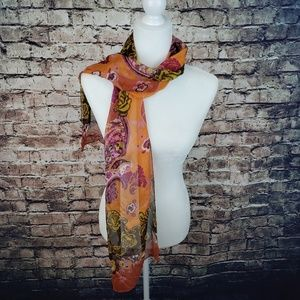 Scarf Paisley & Floral Print